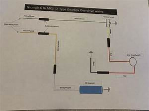 Gt6  U0026 39 D U0026 39  Type Gearbox Od Wiring Diagram   Spitfire  U0026 Gt6