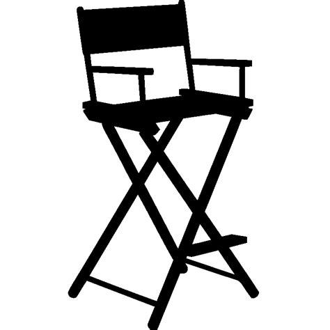 chaise r alisateur stickers muraux cinéma sticker chaise de réalisateur