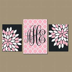 40 creative monogram wall art ideas With monogrammed wall art