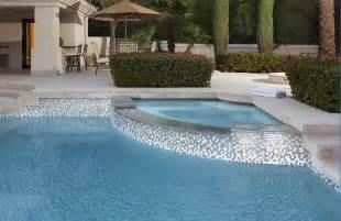 Glass Pool Waterline Tile by Oceanside Glasstile Featured Designers Alpentile