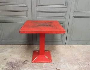 Table Bistrot Ancienne : table tolix mini kub 70 ~ Melissatoandfro.com Idées de Décoration