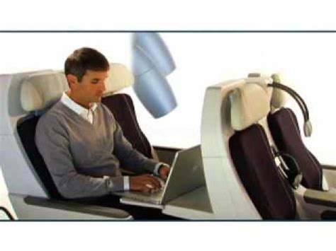siege business air premium economy premium voyageur air flight