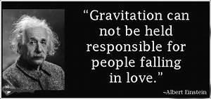 ALBERT EINSTEIN QUOTES LOVE GRAVITY image quotes at ...