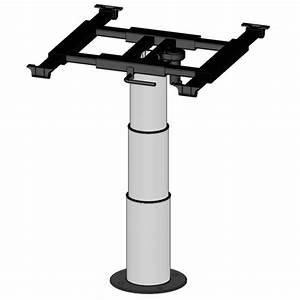 Pied De Table Telescopique : pied de table t lescopique camping car ilse 335 710 mm ~ Dailycaller-alerts.com Idées de Décoration