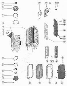 Mercury Marine Model 850 85 Hp  4 Cylinder  End Caps