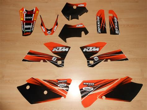 kit deco 125 sx 2006 kit d 233 co complet ktm exc sx sxf 05 224 07 rd2shop fr
