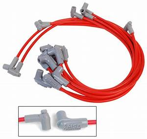 Msd 31359 Super Conductor Spark Plug Wire Set  Small Block