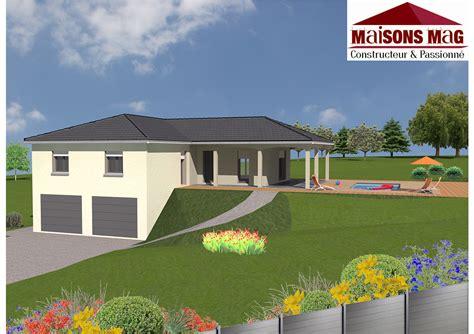 plan de maison de plain pied avec 4 chambres plan maison plain pied avec sous sol nos plans de maisons