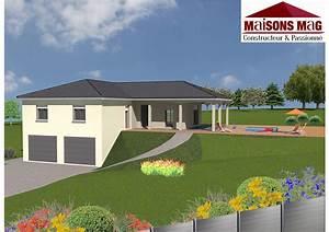Sous Sol Maison : plan de maison individuelle plain pied tage ou sous sol ~ Melissatoandfro.com Idées de Décoration