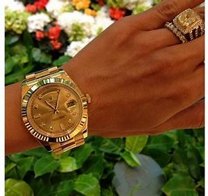 Obsessed with this watch (Leyla Milani) #gold #rolex # ...