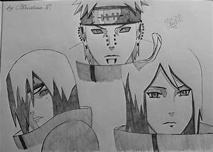 Nagato,Pein and Konan by M0nstac00kie on DeviantArt