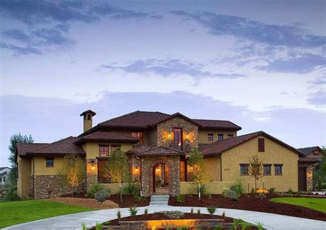 House Style : Small Tuscan Style House Plans Idea-house Style Design