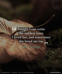 50 Saddest Lines From Literature That Will Melt Even The ...