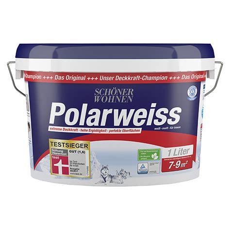 Schöner Wohnen Polarweiss 25 L by Sch 246 Ner Wohnen Polarwei 223 Wei 223 1 L Matt 5861 If