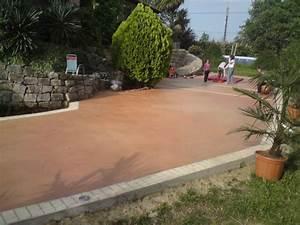 astuces nouveautes formations beton imprime With beton colore pour terrasse prix