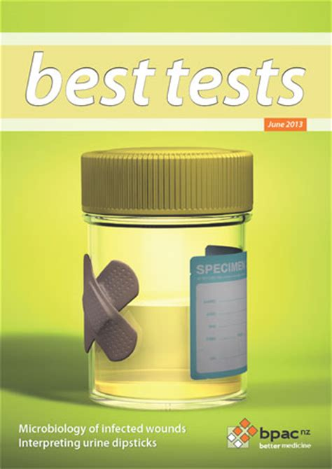 interpreting urine dipstick tests  adults  tests