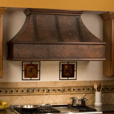 "30"" Tuscan Series Copper Wall Mount Range Hood   Kitchen"