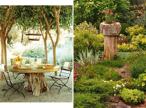 Repurpose Your Tree Stumps.