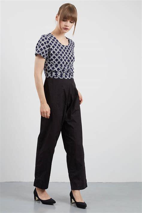 sell shion batik jumpsuit blue jumpsuit berrybenka