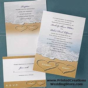 25 best ideas about beach themed weddings on pinterest With wedding invitation wording for beach ceremony