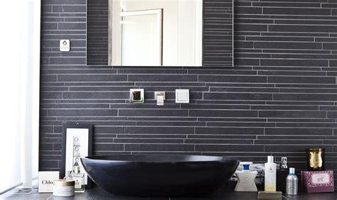 bagni con piastrelle piastrelle nere per il bagno casafacile