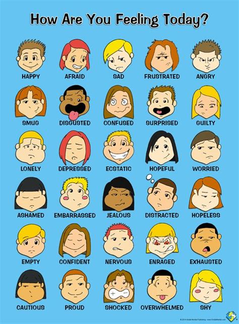 Toon Feelings Poster  Coolblue! • Handdrawn & Digitallyfinished • Practical And Entertaining