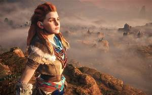 Wallpaper Aloy Horizon Zero Dawn Female Protagonist 4K