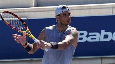 Spains Tennis Legend Rafa Nadal Returns To Serious