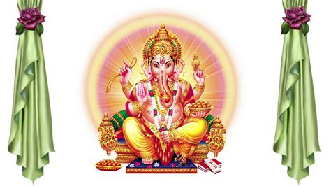 God Animation Wallpaper Free - wedding background ganesh animation free hd background