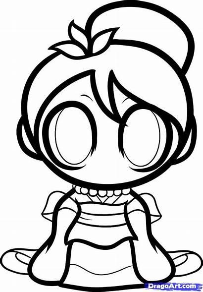 Chibi Draw Mulan Disney Princess Drawing Dragoart