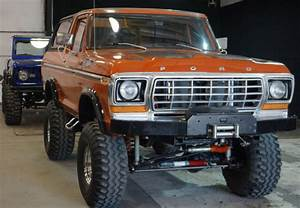 Rare 1978 Ford Bronco Custom Package  4x4  Original Paint