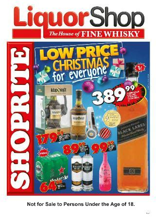 shoprite liquor deals  dec   dec  black