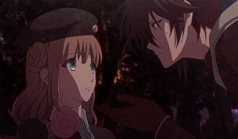 amnesia anime shin and heroine kiss trending tumblr
