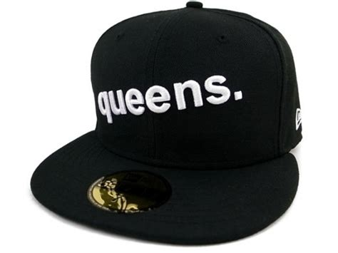 queens fitted hat
