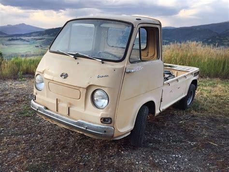 subaru sambar truck rare truck 1969 subaru 360 sambar pickup