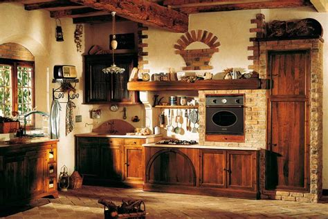 antique kitchen design idea with old fashioned style and