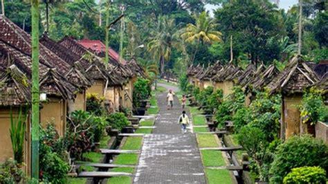 tepat  pemprov bali mengembangkan desa desa wisata