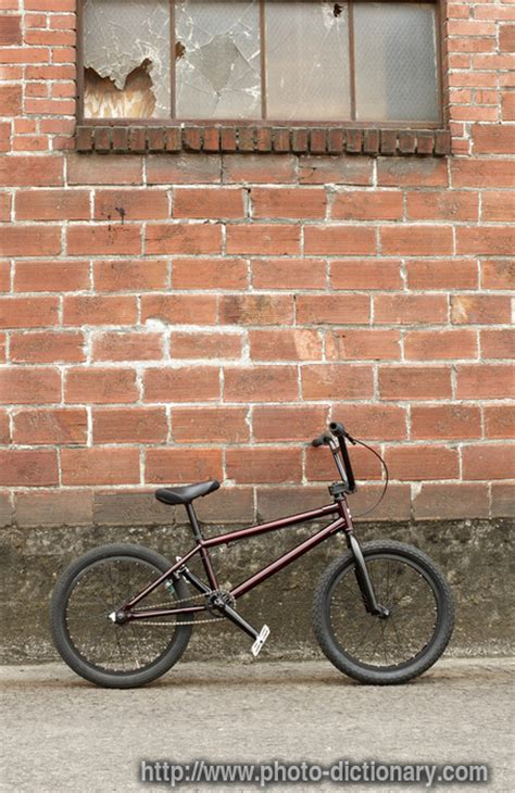 Bmx Bike  Photopicture Definition At Photo Dictionary