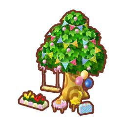 tree swing animal crossing pocket camp wiki