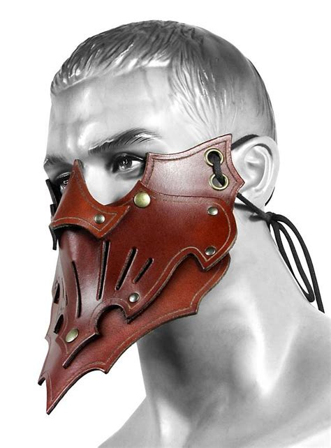 shadow assassin mask brown maskworldcom