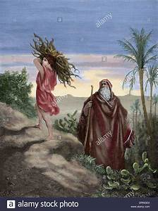 Old Testament  Book Of Genesis  Abraham And Isaac Carrying