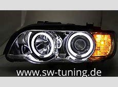 SWCCFL Angel Eye Scheinwerfer BMW X5 E53 9903 chrom SW