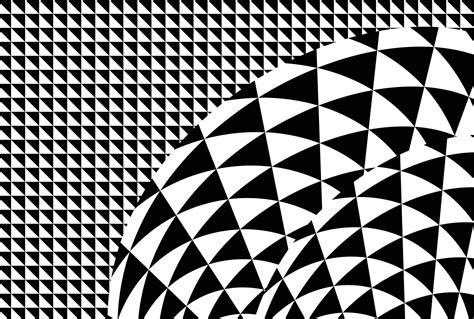 poster 224 motifs g 233 om 232 triques noir et blanc