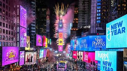 Ball Drop Square Times Eve York Countdown