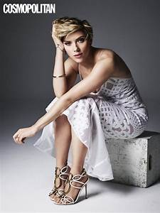 Scarlett Johansson on Cosmopolitan May 2016   POPSUGAR Celebrity