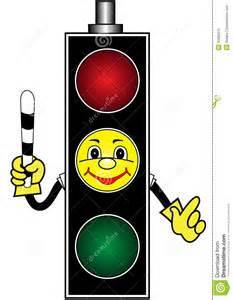 Cartoon Traffic Light