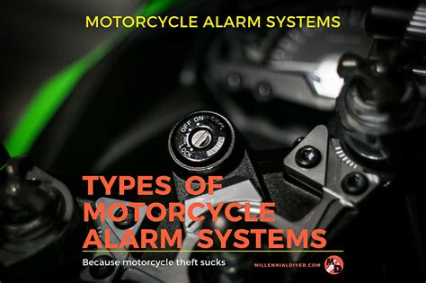Types Of Motorcycle Alarm Systems