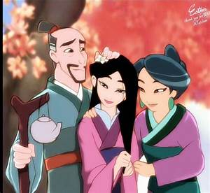 Mulan's family | Disney | Pinterest