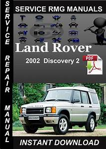 2002 Land Rover Discovery 2 Service Manual Download