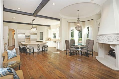 elegant traditional open kitchen  dining room
